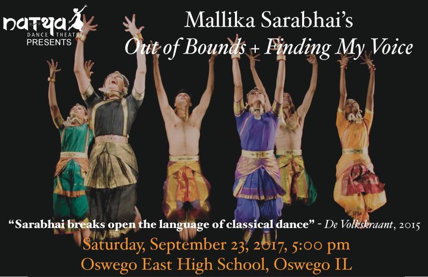 Mallika Sarabhai 9.23.17 promo image