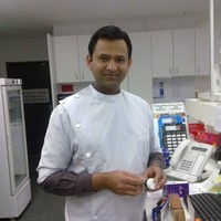 Good news story: Pharmacist Raj Gupta dispensing medication even after losing home in the Australian bushfires